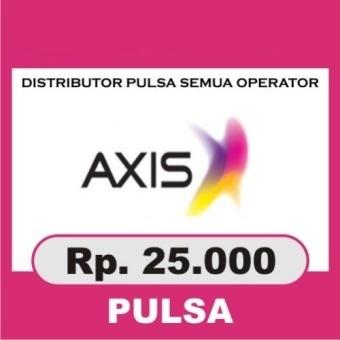 Beli Pulsa Axis - Axis 25.000