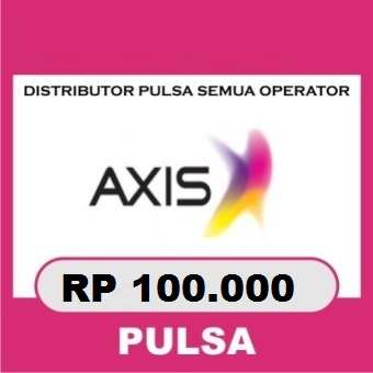 Beli Pulsa Axis - Axis 100.000
