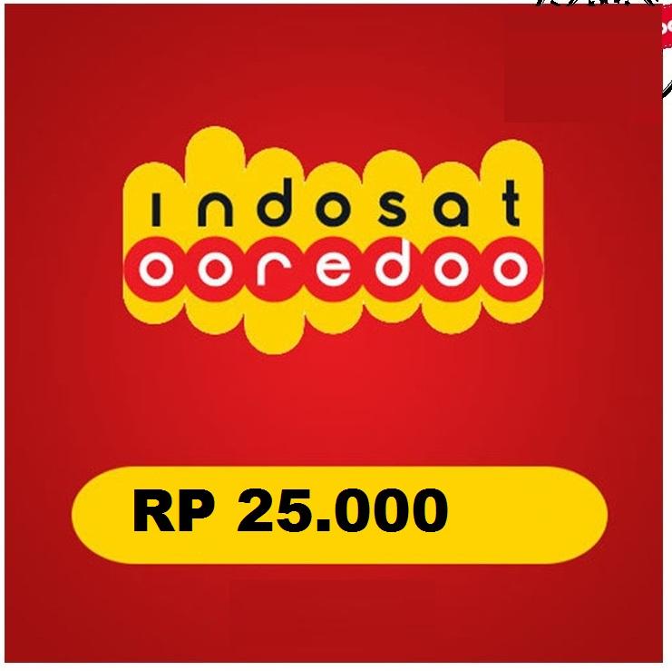 Beli Pulsa Indosat - isat 25.000