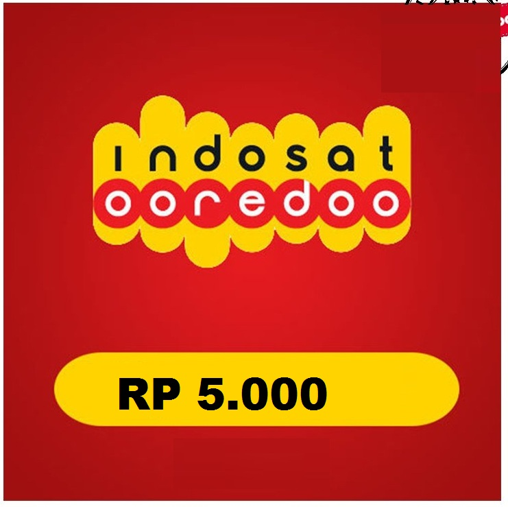Beli Pulsa Indosat - isat 5000