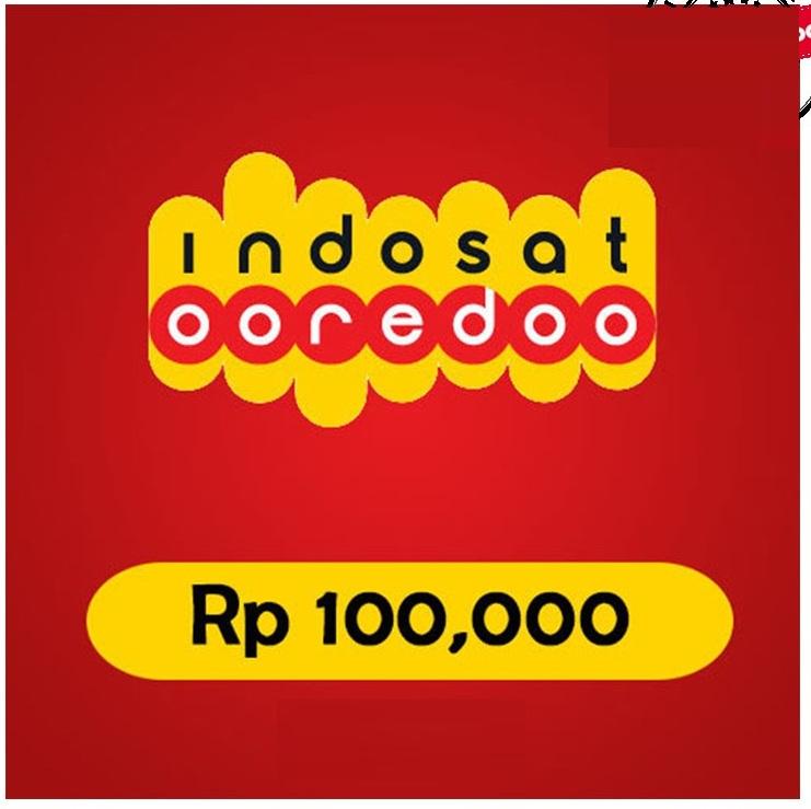 Beli Pulsa Indosat - Pulsa 100.000