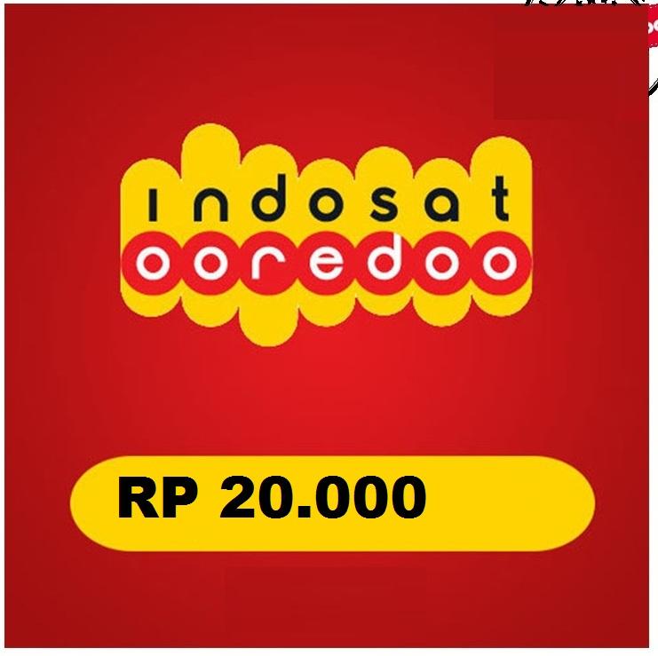 Beli Pulsa Indosat - Pulsa 20.000