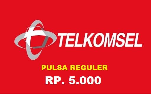 Beli Pulsa Telkomsel - Pulsa 5.000