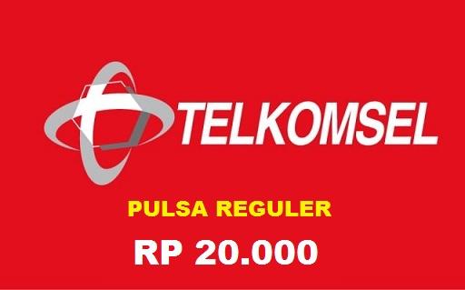 Beli Pulsa Telkomsel - Tsel 20.000