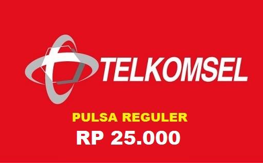 Beli Pulsa Telkomsel - Pulsa 25.000