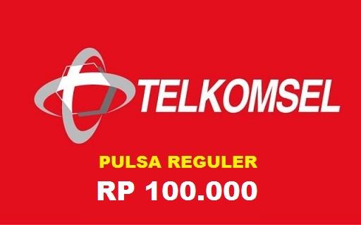 Beli Pulsa Telkomsel - Tsel 100.000